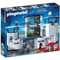 Playmobil City Action Polizeizentrale mit Gefängnis 6919