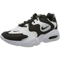 Nike Damen WMNS AIR MAX 2X Laufschuh, White Black White, 36.5