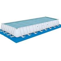 BESTWAY Power Steel Frame Pool Set 956 x 488 x 132 cm inkl. Sandfilteranlage