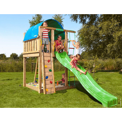 Jungle Gym Spielturm Jungle Villa, BxTxH: 170x392x274 cm
