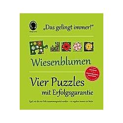 """Das """"Gelingt-immer""""-Puzzle Wiesenblumen (Puzzle)"""