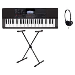 Casio CT-X700 Keyboard Set inkl. Keyboardständer & Kopfhörer