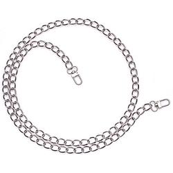 buttinette Gliederkette, silber, 15 x 10 mm, 1,1 m