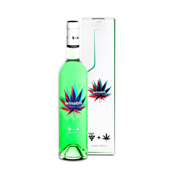 Winabis Cannabis Wine 0,75L (9,5% Vol.) mit GP