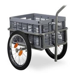 relaxdays Fahrrad-Lastenanhänger bis 50,0 kg