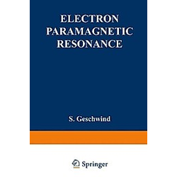 Electron Paramagnetic Resonance - Buch