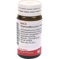 THYMUS/MERCURIUS Globuli 20 g