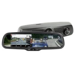 4.3 Spiegelmonitor inkl. Full HD Dashcam + DVR Funktion