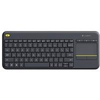 Logitech K400 Plus Wireless Touch Keyboard CH schwarz 920-007133