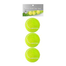 3 Idena Tennisbälle   gelb/grün