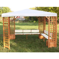 Promadino Sitz- /Rückenauflagen für Pavillon 374/45