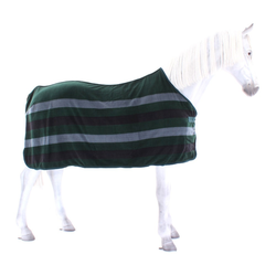 Equiline STEVEN FLEECE DECKE in GRAU BLAU (HW 19/20), Eq19_HW_Gr.: XL