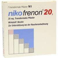 Riemser Pharma Nikofrenon 20 transdermale Pflaster 7 St.