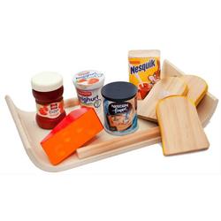 Frühstücks-Set aus Holz 9217