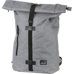 Rucksack Kuriertasche CLASSIC grey melange grau/orange