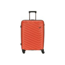 CHECK.IN® Trolley Orlando 4-Rollen-Trolley 67 cm, 4 Rollen orange