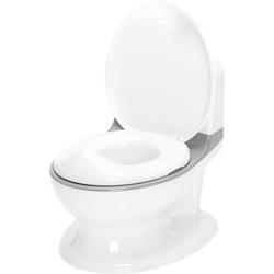 Fillikid Töpfchen Mini Toilette, weiß/grau, inkl. Sound- und Lichteffekte
