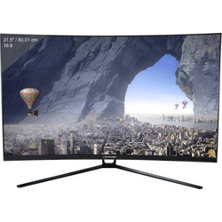 LC Power LC-M32-QHD-144-C Gaming Monitor 80cm (31.5 Zoll) EEK B (A++ - E) 2560 x 1440 Pixel QHD 4 ms