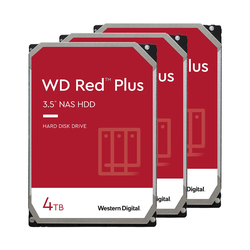 WD Red Plus WD40EFZX 4 TB 3-Pack