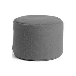 mokebo Pouf Der Ruhepouf, Indoor Sitzkissen, Sitzhocker & Sitzpouf, in rund o. eckig & vielen Farben grau 60 cm x 40 cm x 60 cm