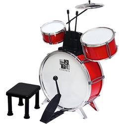 Schlagzeug Concerto, 3 Trommeln und 1 Becken