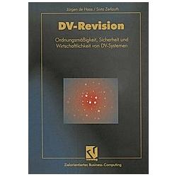 DV-Revision. Sixta Zerlauth  - Buch