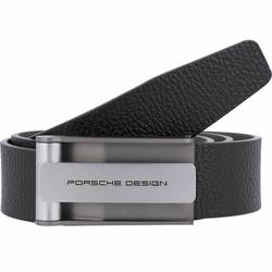 Porsche Design Hook Gürtel Leder black 100 cm