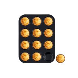 Homewit Backform 12 Mulden Muffinbackform, (Set 1-tlg), 35x26.5x3 cm Muffinform für 12 Muffins