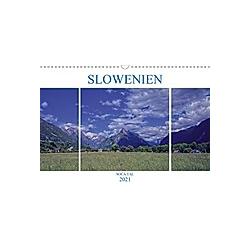 Slowenien - Soca Tal (Wandkalender 2021 DIN A3 quer)