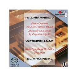 HAAS/RSO FRANKFURT, Haas/RSO Frankfurt/Inbal - Klavierkonzert 2/+ (SACD)