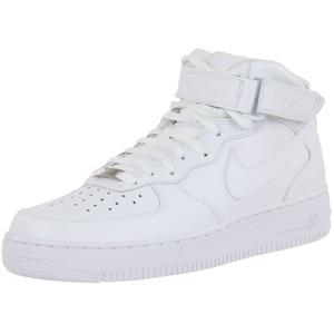 NIKE Herren Air Force 1 Mid '07 High-Top Sneaker, Weiß, 45 EU