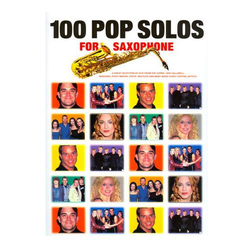 100 More Pop Solos für Saxophon