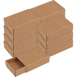 VBS Aufbewahrungsbox Streichholzschachteln, Kraftpapier, 12 Stück