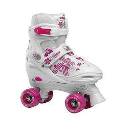 Roces Rollschuhe Rollschuhe Quaddy weiß rosa 26-29