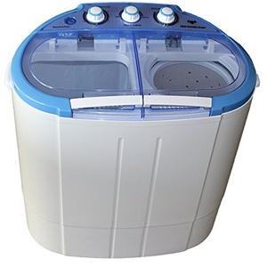 Mini Waschmaschine Waschautomat mit Schleuder Wäscheschleuder Toplader 2 Kg Wäsche