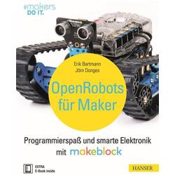 Hanser Verlag Buch  Open Robots für Maker