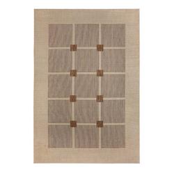 Flachgewebe Teppich Square (Braun; 80 x 150 cm)