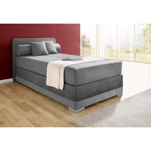 Boxspringbett, Maintal grau