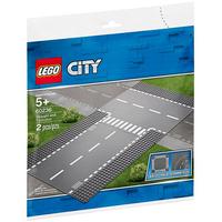 Lego City Gerade und T-Kreuzung 60236