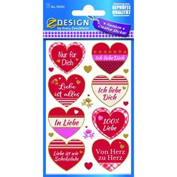 Zweckform 55092 Sticker Liebe