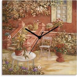 Wanduhr »Garten«, Wanduhren, 32788615-0 braun braun