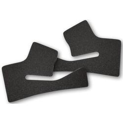 Shoei NXR Comfort Wangpads, zwart, 2 2 mm