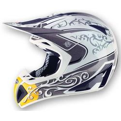AIROH Stelt Senior MX1 MX helm Grijs XL