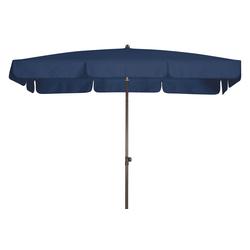 Doppler WATERPROOF III wasserdichter Sonnenschirm 185 x 120cm blau