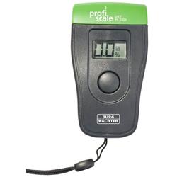 BURG WÄCHTER Feuchtemessgerät DRY PS 7400, inkl. Batterie und Tasche grau