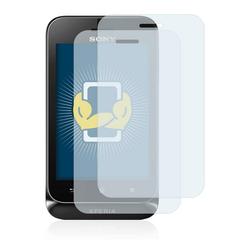 BROTECT Schutzfolie für Sony Xperia Tipo ST21i, (2 Stück), Folie Schutzfolie klar