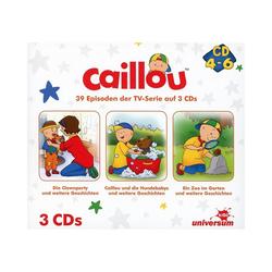 Caillou Hörspiel CD Caillou Hörspielbox 2 (CD 4-6)(3 CDs)
