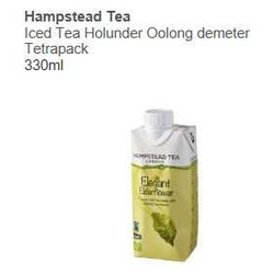 Iced Tea Holunder Oolong demeter Tetrapack 330ml - Hampstead Tea -