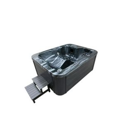 Home Deluxe Outdoor-Whirlpool Black Marble