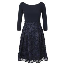 heine Damen Cocktailkleid dunkelblau, Größe 40, 4653014